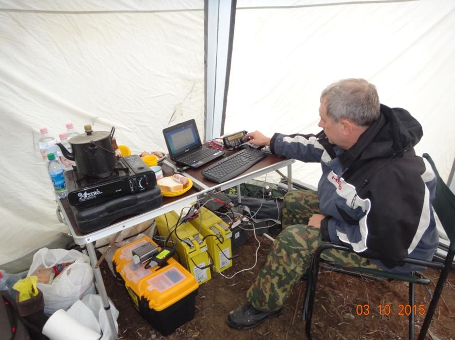РМ КВ в палатке фото 9