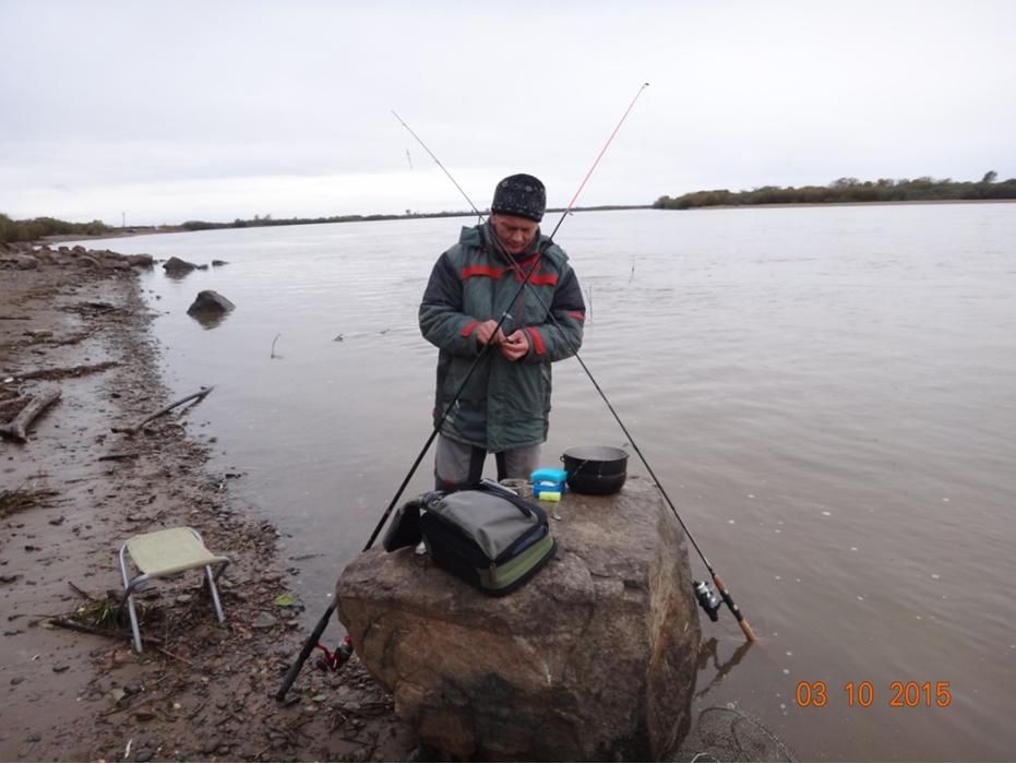 Сергей UB0CAG на рыбалке фото 10